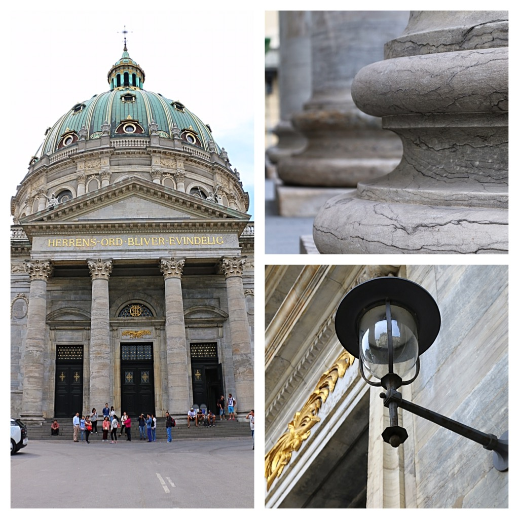 impressively beautiful and near the amalienborg castle and the opera the marble church or the frederiks church its official name is one most tourists